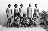 view Student at Protestant secondary school. Mbandaka, Congo (Democratic Republic) digital asset: Students at Protestant secondary school. Mbandaka, Congo (Democratic Republic)