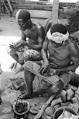 view Kyaman goldsmiths, Anna village, Ivory Coast digital asset: Kyaman goldsmiths, Anna village, Ivory Coast