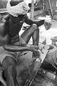 view Kyaman goldsmith, Anna village, Ivory Coast digital asset: Kyaman goldsmith, Anna village, Ivory Coast