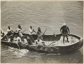view Mail boat, Lualaba River, Belgian Congo digital asset: Mail boat, Lualaba River, Belgian Congo