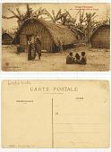 view Congo Français Congo Français - Cases batékés (Moyen Congo) digital asset: Congo Français Congo Français - Cases batékés (Moyen Congo)
