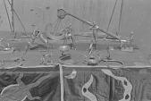 view Dahomeyan brass work, Abomey, Dahomey Kingdom, Benin digital asset: Dahomeyan brass work, Abomey, Dahomey Kingdom, Benin