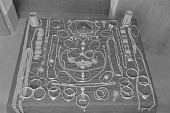 view Silver jewelry collection of the former royal family of Dahomey, Abomey, Dahomey Kingdom, Benin digital asset: Silver jewelry collection of the former royal family of Dahomey, Abomey, Dahomey Kingdom, Benin