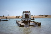 view Ferry, Niger River, Inland Delta region, Niger digital asset: Transportation