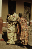 view Men Wearing Adinkra Cloth digital asset: Men Wearing Adinkra Cloth