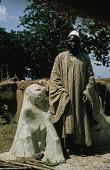 view Shrine, Mud Figure with Chief, Burufu digital asset: Shrine, Mud Figure with Chief, Burufu