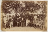view Africans and colonial officials digital asset: Africans and colonial officials