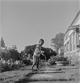 view Boy in Garden, Natal, South Africa digital asset: Boy in Garden