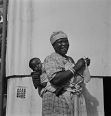 view Woman with Infant, Natal, South Africa digital asset: Woman with Infant