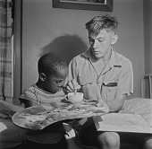 view Alan Paton's Son and Boy, Natal, South Africa digital asset: Alan Paton's Son and Boy, Natal, South Africa