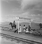 view People at Carisbrooke Stop digital asset: People at Carisbrooke Stop