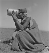 view Xhosa Man Drinking, Transkei, South Africa digital asset: Transkei Man Drinking