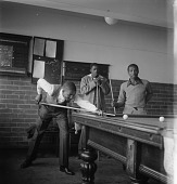 view Men Playing Billiards digital asset: Men Playing Billiards