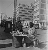 view Woman Selling Potatoes, Johannesburg digital asset: Woman Selling Potatoes, Johannesburg