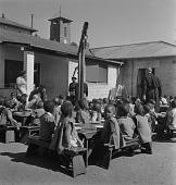 view Children Eating at School digital asset: Children Eating at School