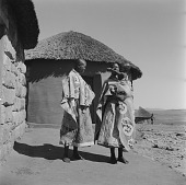 view Sotho Mother With Child and Woman digital asset: Sotho Mother With Child and Woman