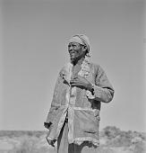 view San man, Kalahari Desert, Botswana digital asset: San man, Kalahari Desert, Botswana