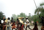 view Pende [Masquerade at Nyoka-Kakese] digital asset: Pende [Masquerade at Nyoka-Kakese]