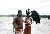 view Pende [Masquerade at Lufushi] digital asset: Pende [Masquerade at Lufushi]