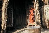 view Pende [Door-panel at Mbwambwa] digital asset: Pende [Door-panel at Mbwambwa]
