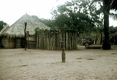 view Pende [Chief's ritual house at Mukenge] digital asset: Pende [Chief's ritual house at Mukenge]