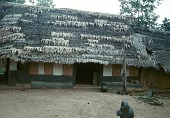 view The ancestral shrine house, Mma obu (ancestor-rest house), in Ezi Ukwu compound, Mgbom village, Afikpo Village-Group, Nigeria digital asset: The ancestral shrine house, Mma obu (ancestor-rest house), in Ezi Ukwu compound, Mgbom village, Afikpo Village-Group, Nigeria