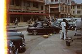view Street scene, Lagos, Nigeria digital asset: Street scene, Lagos, Nigeria