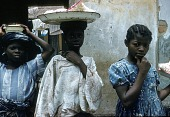 view Street vendor selling popcorn, Lagos, Nigeria digital asset: Street vendor selling popcorn, Lagos, Nigeria