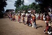view Masqueraders wearing the upa nwa mask in the njenji parade, Mgbom village, Afikpo Village-Group, Nigeria digital asset: Masqueraders wearing the upa nwa mask in the njenji parade, Mgbom village, Afikpo Village-Group, Nigeria