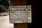 view Diviner's signboard, Amamgballa Village, Afikpo Village-Group, Nigeria digital asset: Diviner's signboard, Amamgballa Village, Afikpo Village-Group, Nigeria