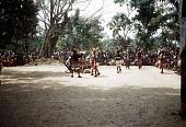 view Players with mma ji mask at the okonkwo dance, Oha Nwego Village, Okpoha Village-Group, Nigeria digital asset: Players with mma ji mask at the okonkwo dance, Oha Nwego Village, Okpoha Village-Group, Nigeria