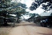 view View of the village, looking north toward Government Station, Afikpo Number Two, Nigeria digital asset: View of the village, looking north toward Government Station, Afikpo Number Two, Nigeria