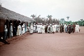 view Muslim men at the Alhaji's home, Anohia Village, Afikpo Village-Group, Nigeria digital asset: Muslim men at the Alhaji's home, Anohia Village, Afikpo Village-Group, Nigeria
