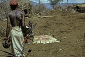 view Samburu [person in] nkang (compound) stretching calfskin : Barseloi, Kenya digital asset: Samburu [person in] nkang (compound) stretching calfskin : Barseloi, Kenya