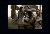 view Man Cutting Stencil From Zinc Sheets Abeokuta digital asset: Man Cutting Stencil From Zinc Sheets Abeokuta