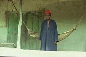 view Pa Hamidu Kamara, the Speaker of Wara Wara Bafodea Chiefdom, Bafodea Town, Sierra Leone digital asset: Pa Hamidu Kamara, the Speaker of Wara Wara Bafodea Chiefdom, Bafodea Town, Sierra Leone