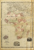"""view Thomas Ofcansky collection digital asset: """"Johnson's Africa"""" [Map of Africa Delineating European Colonies]"""