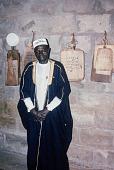 view Ann O'Hear Collection digital asset: Alh. Abdullahi Abdul-Salami, Imam Idiaro, of Ile Onigaari, Balogun Alanamu Ward, Ilorin