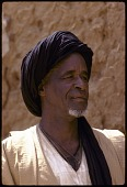 view Hausa elderly man with turban, near Zinder, Niger digital asset: Hausa elderly man with turban, near Zinder, Niger