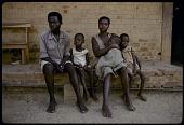 view Family of Angolan refugees, Kibentile near Mbanza-Ngungu, Congo (Democratic Republic) digital asset: Family of Angolan refugees, Kibentile near Mbanza-Ngungu, Congo (Democratic Republic)