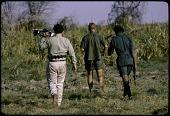 view Eliot Elisofon's expedition crew, Lake Manyara National Park, Tanzania digital asset: Eliot Elisofon's expedition crew, Lake Manyara National Park, Tanzania