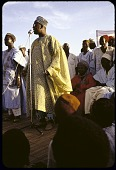 view Chief Obafemi Awolowo, Premier of Western Region, campaigning at Action group rally, Sokoto, Nigeria digital asset: Chief Obafemi Awolowo, Premier of Western Region, campaigning at Action group rally, Sokoto, Nigeria