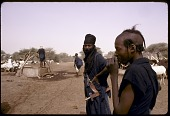 view Wodaabe men near well, Abouza, Zinder-Tanout region, Niger digital asset: Wodaabe men near well, Abouza, Zinder-Tanout region, Niger