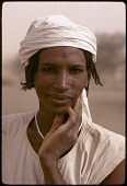 view Young Wodaabe man with facial scarifications, Abouza, Zinder-Tanout region, Niger digital asset: Young Wodaabe man with facial scarifications, Abouza, Zinder-Tanout region, Niger
