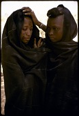 view Young women with facial scarifications, Abouza, Zinder-Tanout region, Niger digital asset: Young women with facial scarifications, Abouza, Zinder-Tanout region, Niger