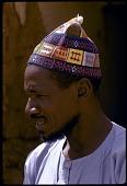 view Man wearing Hausa hat, near Zinder, Niger digital asset: Man wearing Hausa hat, near Zinder, Niger
