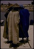 view Men wearing Fulani-style hats, Goundam, Mali digital asset: Men wearing Fulani-style hats, Goundam, Mali