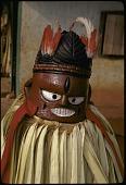 view Ighogho masked dancer, Benin City, Nigeria digital asset: Ighogho masked dancer, Benin City, Nigeria