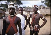 view Dan acrobatic dancers, Man region, Ivory Coast digital asset: Dan acrobatic dancers, Man region, Ivory Coast
