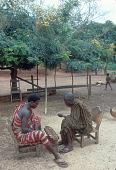 view Asante men playing Wari, Besease, Ghana digital asset: Asante men playing Wari, Besease, Ghana